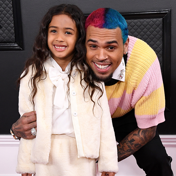 Chris Brown & Other Celebs Who Brought Their Kids to the Grammys - E! NEWS