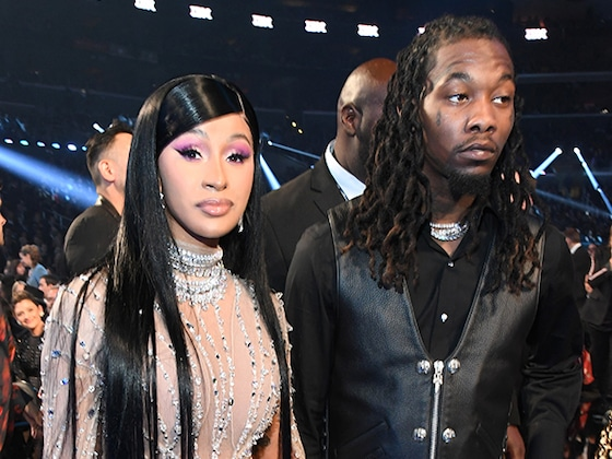 Cardi B and Offset's Fashionably Late Arrival to the 2020 Grammys Was Worth the Wait