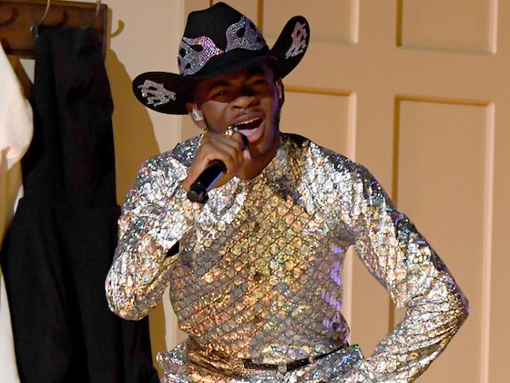 """BTS, Diplo & More Join Lil Nas X & Billy Ray Cyrus on the """"Old Town Road"""" at the 2020 Grammys"""