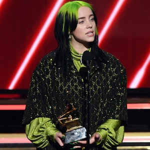 Billie Eilish, 2020 Grammys, Grammy Awards, Winner