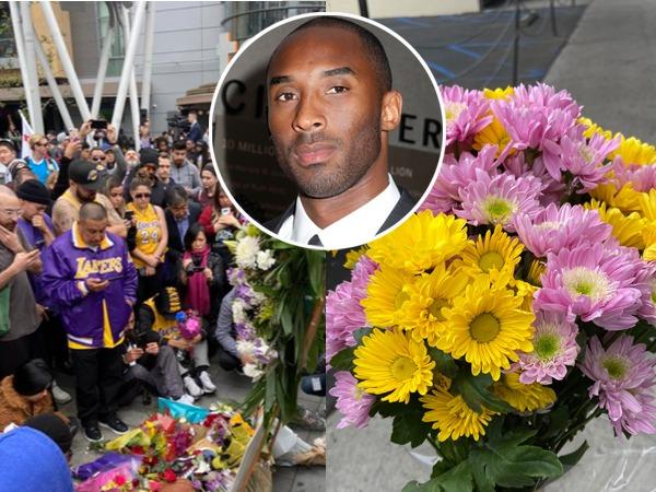 Kobe Bryant Fan Shares Touching Moment With Florist While Mourning the Lakers Star