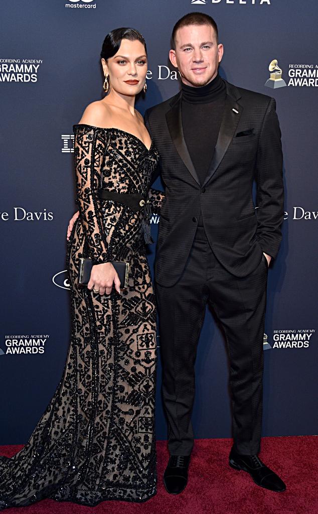 Jessie J, Channing Tatum, Clive Davis Pre-2020 Grammys Gala
