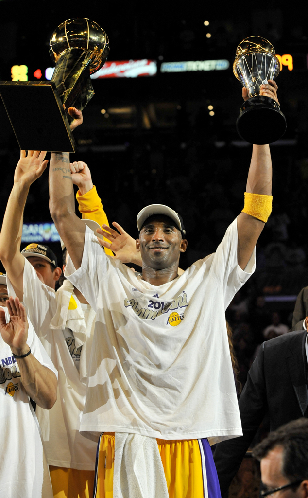 Kobe Bryant, Life In Photos