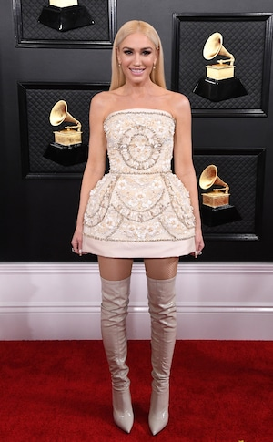 Gwen Stefani, 2020 Grammys, Grammy Awards, Red Carpet Fashions