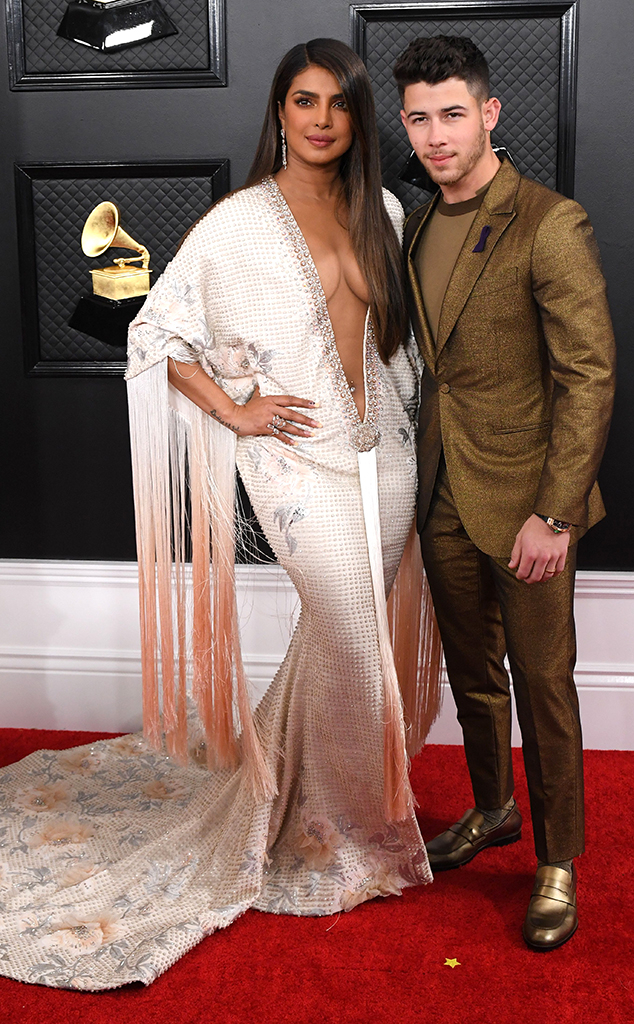 2020 Grammys, Grammy Awards, Couples, Priyanka Chopra, Nick Jonas