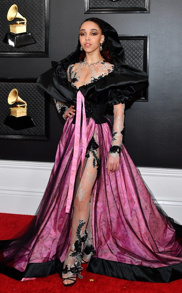 Image result for fka twigs grammys red carpet 2020