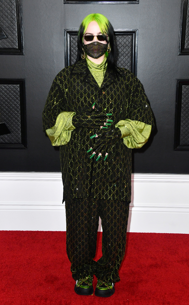 Billie Eilish, 2020 Grammys, Grammy Awards, Red Carpet Fashions