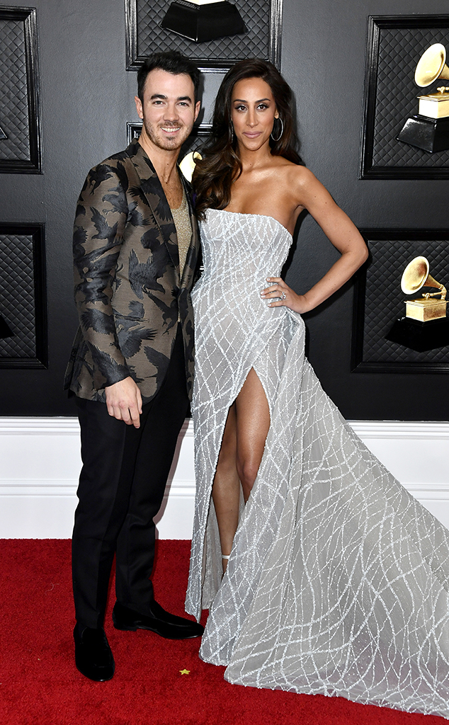 2020 Grammys, Grammy Awards, Couples, Danielle Jonas, Kevin Jonas
