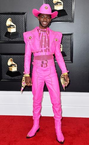 Lil Nas X, 2020 Grammys, Grammy Awards, Red Carpet Fashions