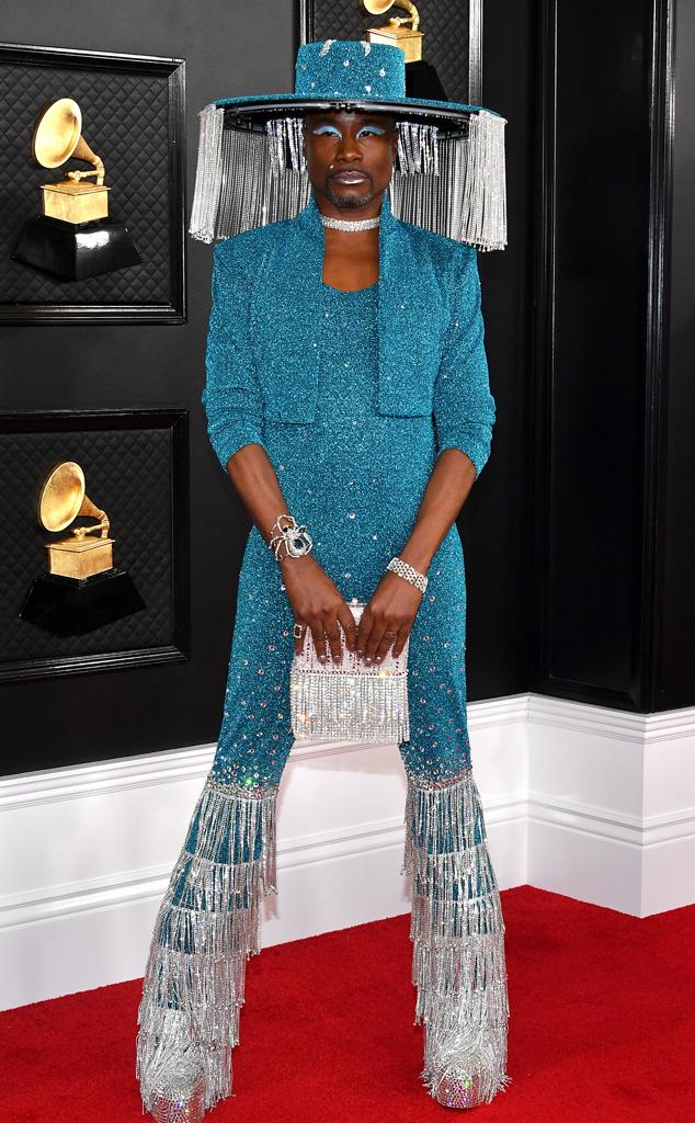 Billy Porter, 2020 Grammys, Grammy Awards, Red Carpet Fashions