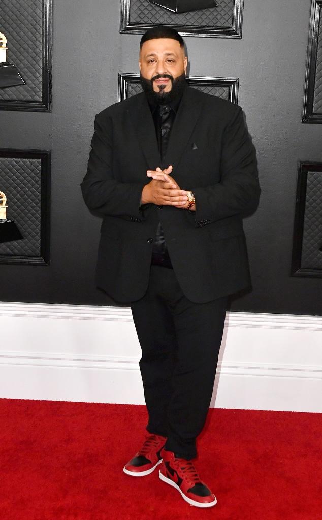 DJ Khaled, 2020 Grammys, Grammy Awards, Red Carpet Fashions