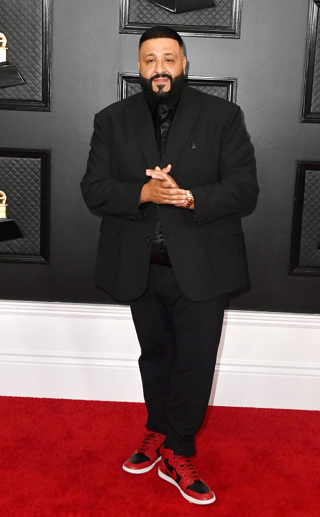 DJ Khaled, 2020 Grammys, Grammy Awards, Red Carpet Fashions