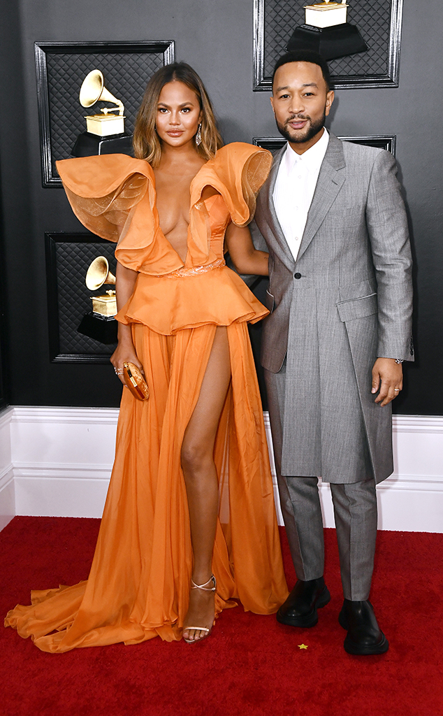 2020 Grammys, Grammy Awards, Couples, Chrissy Teigen, John Legend