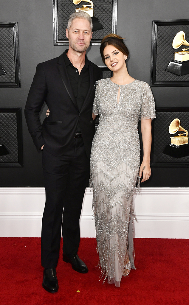 2020 Grammys, Grammy Awards, Couples, Lana Del Rey, Sean Sticks Larkin