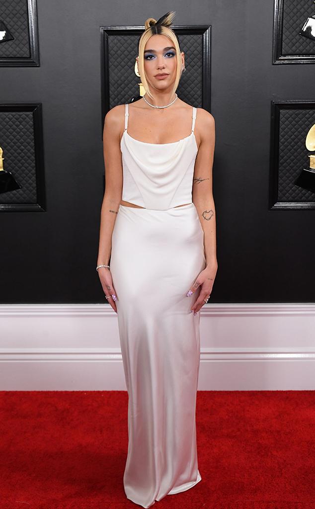 Dua Lipa, 2020 Grammys, Grammy Awards, Red Carpet Fashions