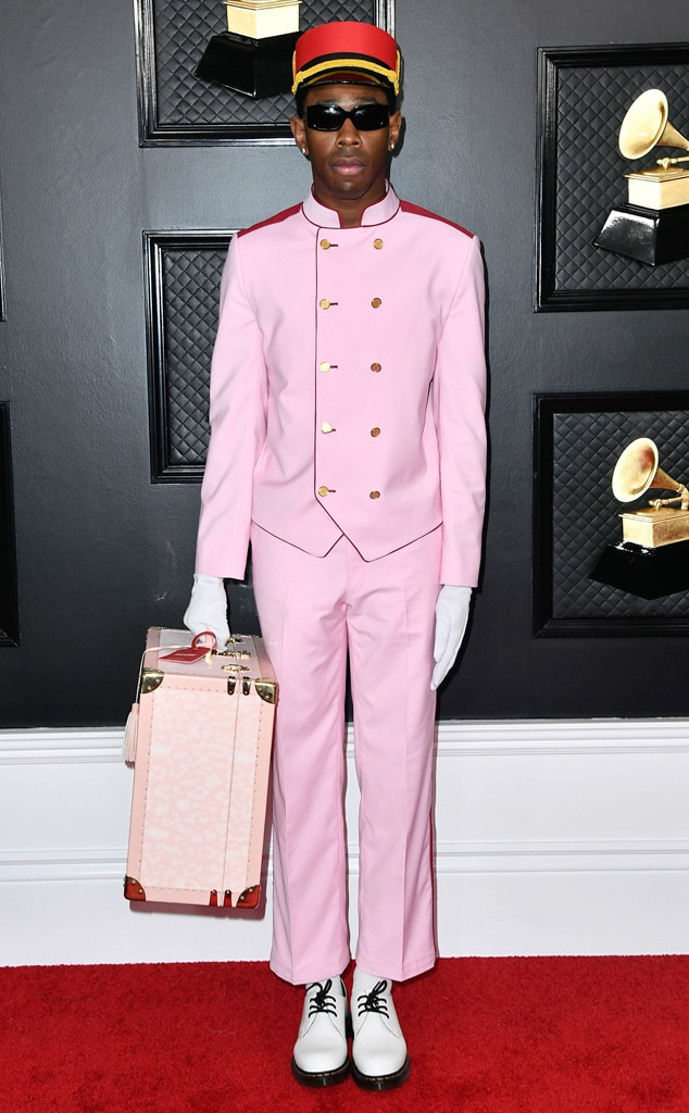 Image result for tyler the creator grammy 2020