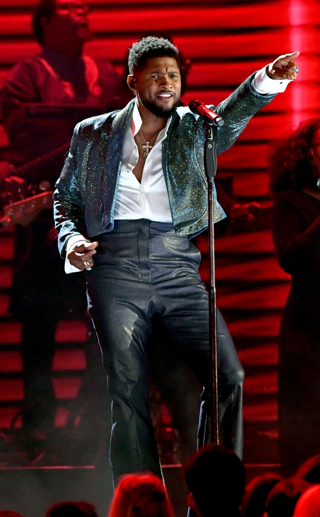 Usher, 2020 Grammys, Grammy Awards, Performance