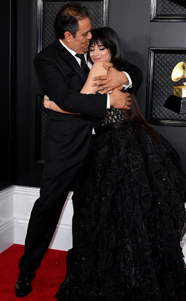 Camila Cabello, Alejandro Cabello, 2020 Grammys, Grammy Awards, Red Carpet
