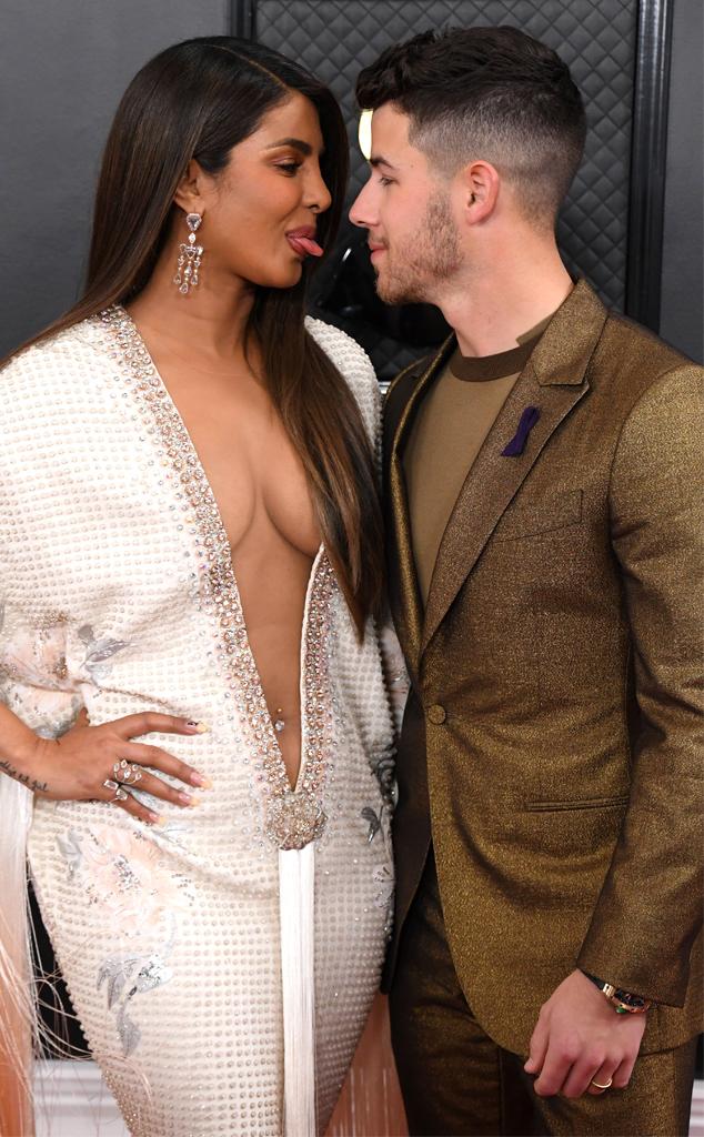 Priyanka Chopra, Nick Jonas, 2020 Grammys, Grammy Awards, Candids