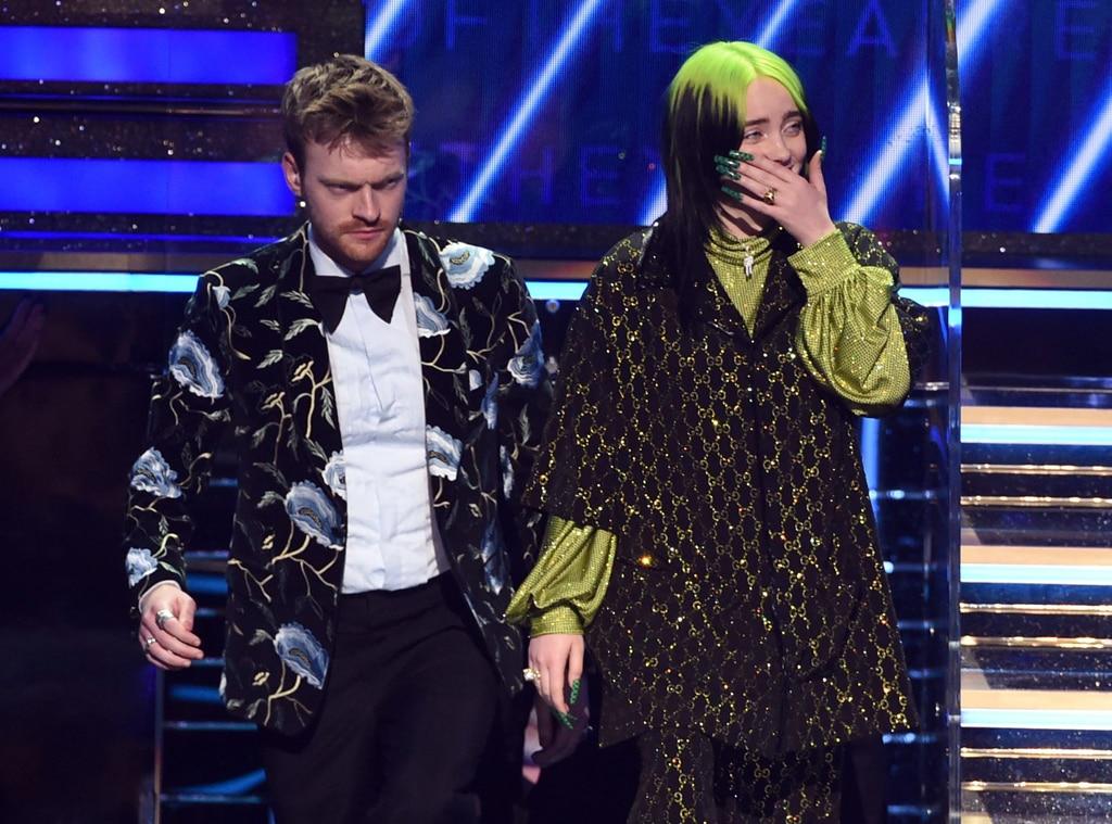 Billie Eilish, Finneas O'Connell, 2020 Grammys, Grammy Awards, Candids
