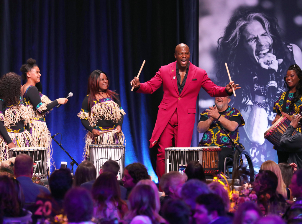 Terry Crews, 2020 Grammys, Party Pics