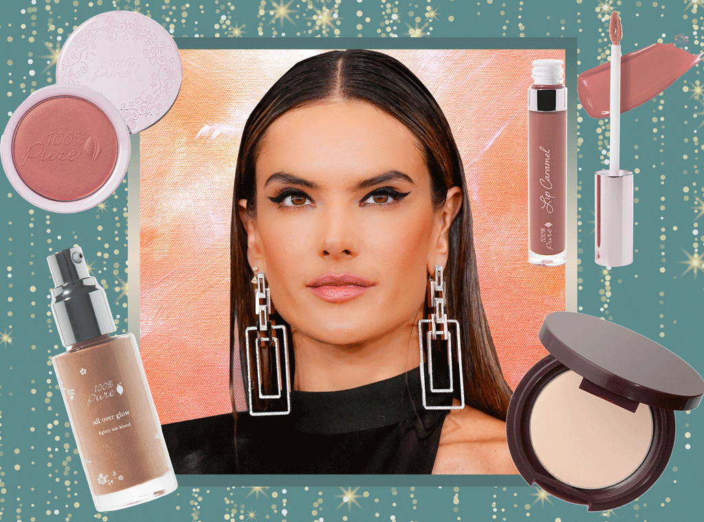 Alessandra Ambrosio, 2020 Grammys Beauty Breakdown, 100% Pure