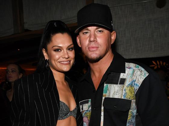 Jessie J Cuddles Up to Channing Tatum in Valentine's Day Video