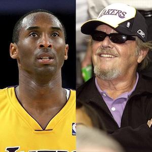 Jack Nicholson, Kobe Bryant, Lakers