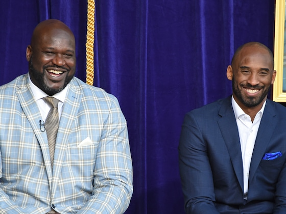 "Shaquille O'Neal Celebrates Friendship With ""Heaven's MVP"" Kobe Bryant During Public Memorial"