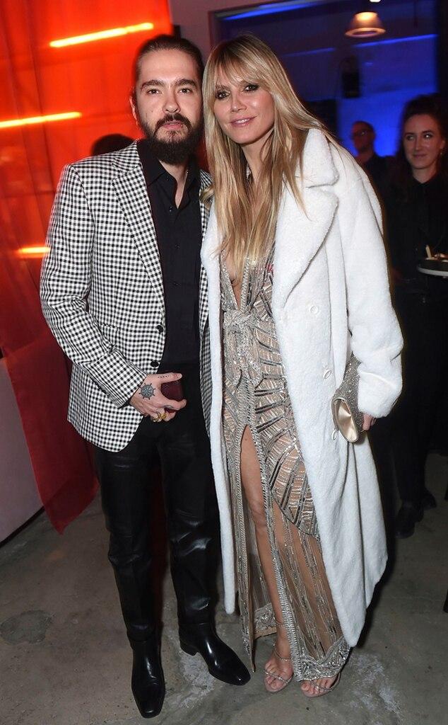 Tom Kaulitz, Heidi Klum, 2020 Grammys, Party Pics