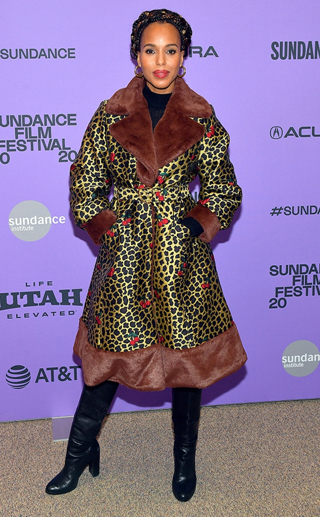 Kerry Washington, 2020 Sundance, WTF Widget
