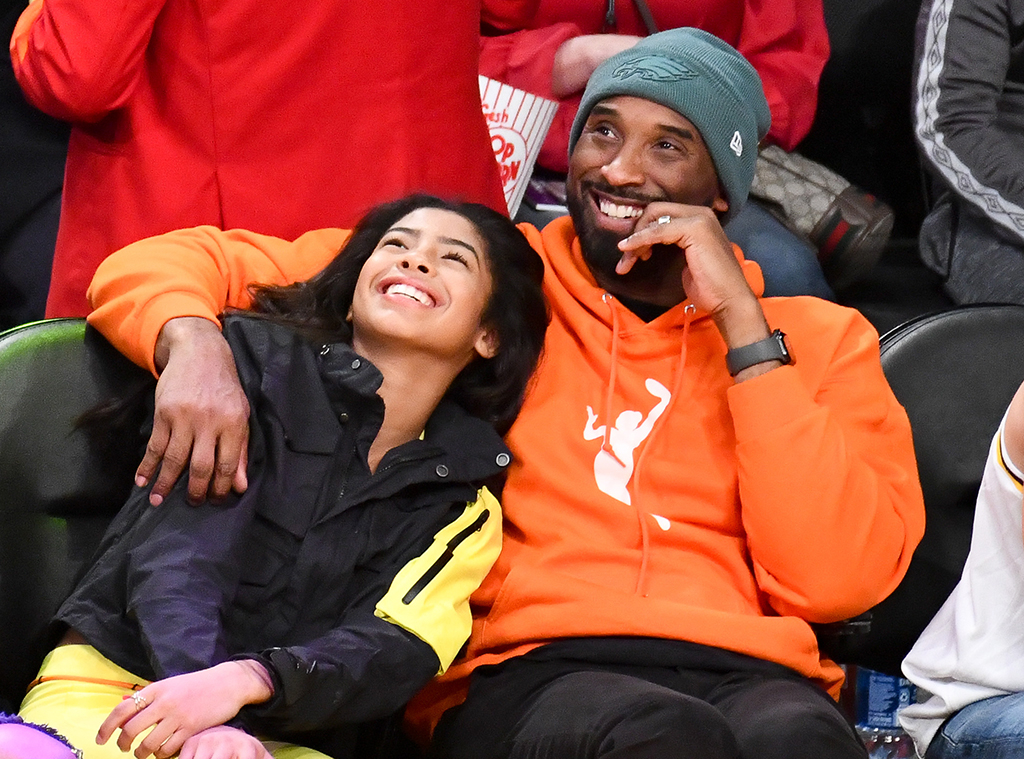 Kobe Bryant, Gianna Bryant, Los Angeles Lakers, Dallas Mavericks