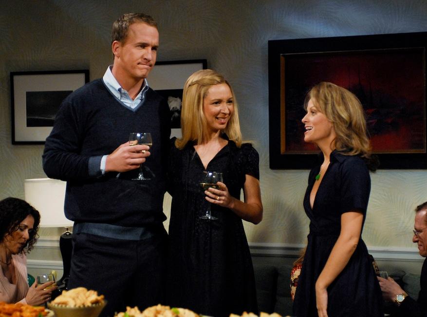 Peyton Manning, Saturday Night Live, SNL Sports Star Hosts