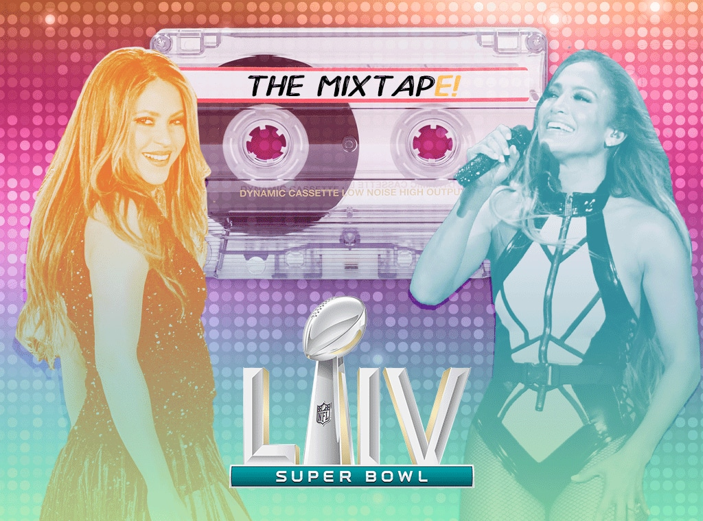 The MixtapE!, Jennifer Lopez, Shakira, Super Bowl Edition