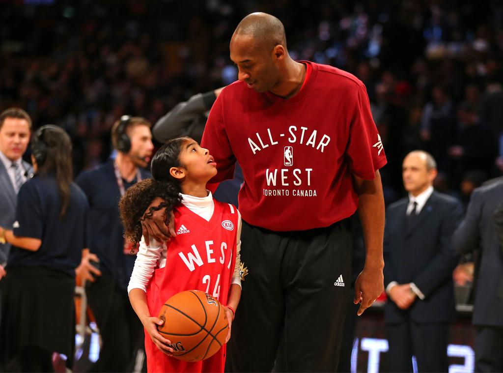 Kobe Bryant, Gianna Bryant, 2016