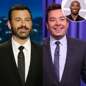 Jimmy Kimmel, Jimmy Fallon, Kobe Bryant