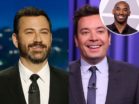 Watch Late Night Hosts Jimmy Fallon, Jimmy Kimmel and More Emotionally Pay Tribute to Kobe Bryant