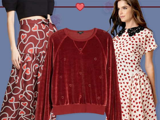 Wear Your Heart on Your Sleeve With These Valentine's Day Clothes!