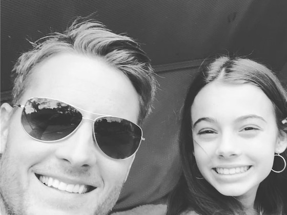 Happy Birthday, Justin Hartley! See All of the Actor's Cutest Dad Moments With His Daughter