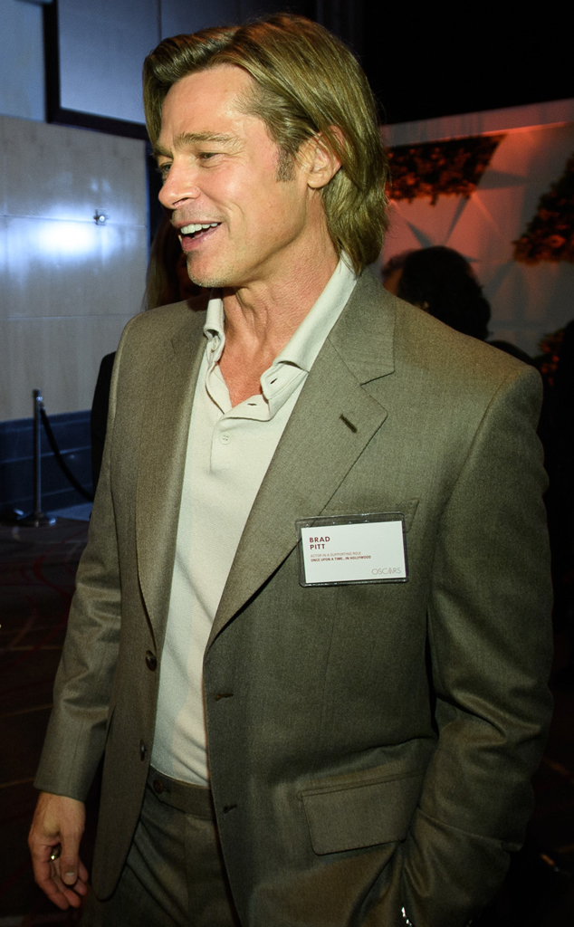 Brad Pitt, Oscar Nominee Luncheon