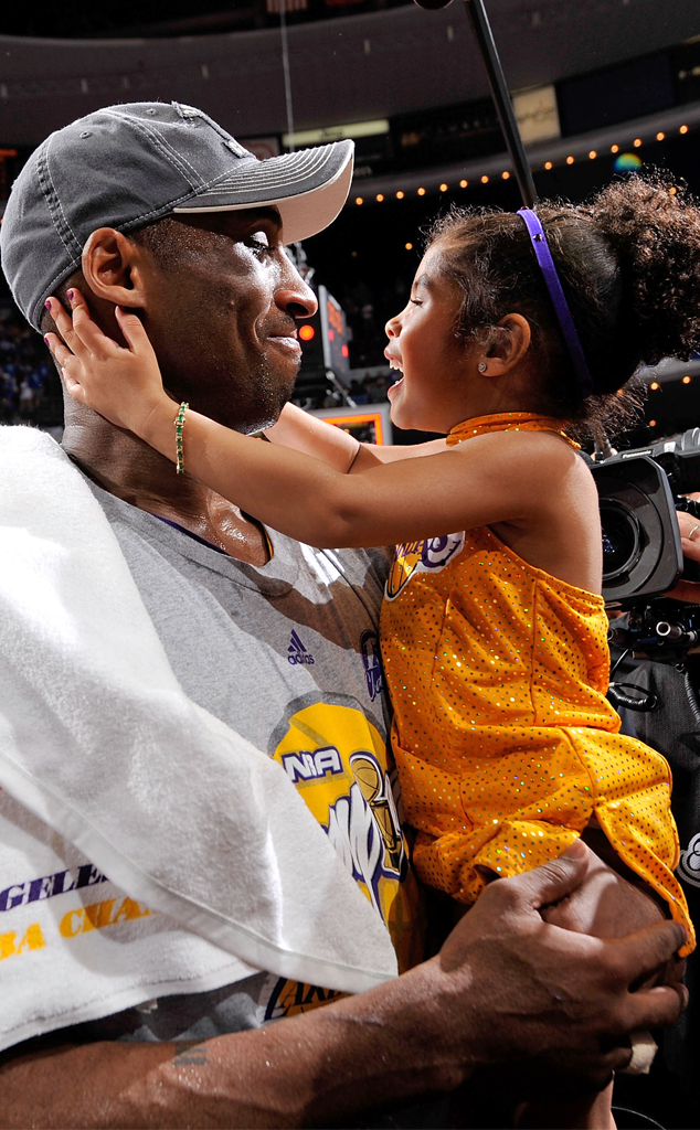 Kobe Bryant, Gianna Bryant, 2009 NBA Championship