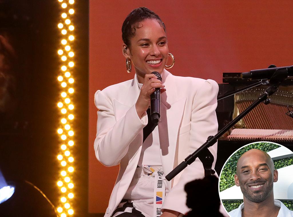 Alicia Keys, Kobe Bryant