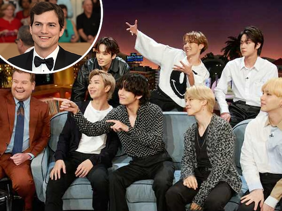 Watch BTS and Ashton Kutcher Play a Hilarious Game of Hide-and-Seek