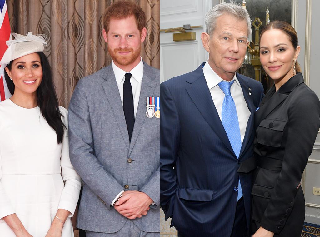 Prince Harry, Meghan Markle, David Foster, Katharine McPhee
