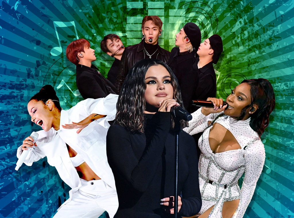 2020 Music Preview, Selena Gomez, Normani, Halsey, Monsta X