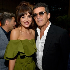 Dakota Johnson, Antonio Banderas