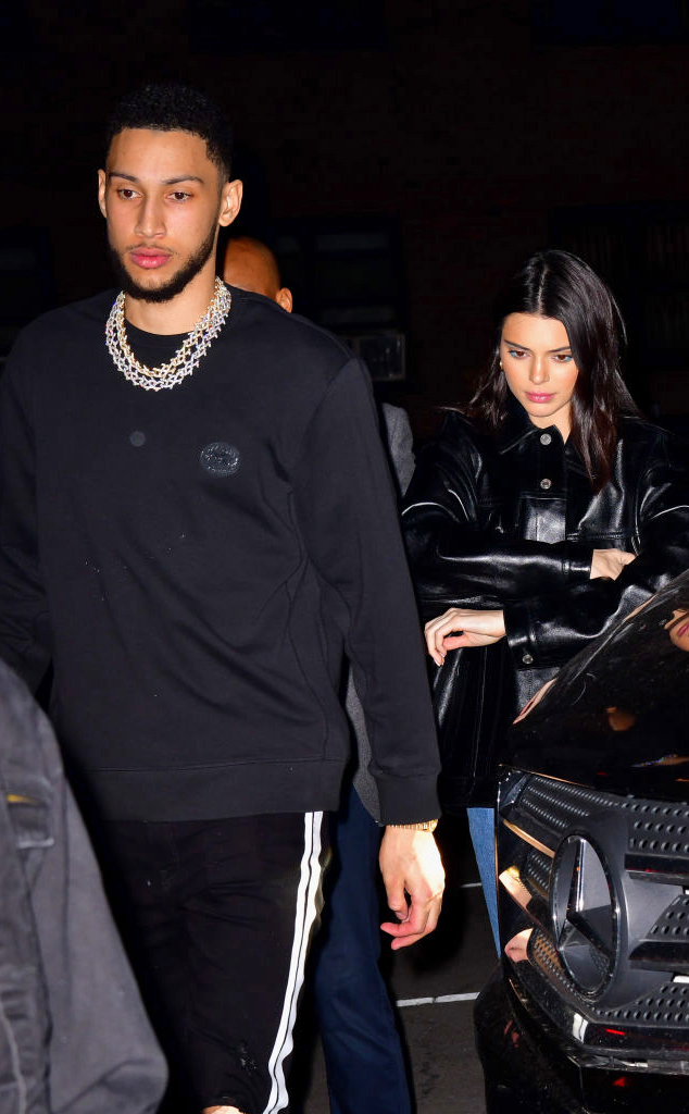 Ben Simmons, Kendall Jenner