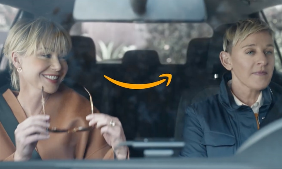 Ellen DeGeneres, Portia de Rossi, Amazon Alexa, Super Bowl 2020, Ad