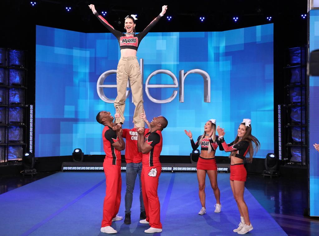 Kendall Jenner, Ellen DeGeneres Show, Cheer