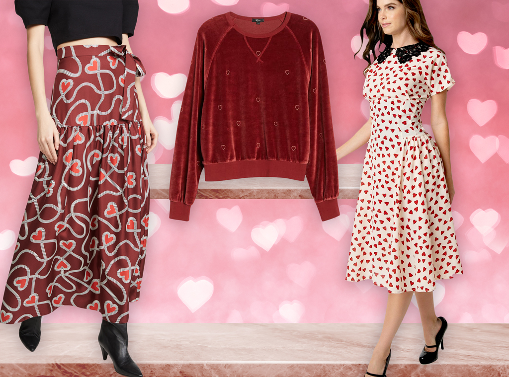 E-Comm: Wear Your Heart on Your Sleeve With These Valentine's Day Clothes!